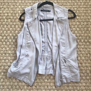 Max Jeans Gray Vest